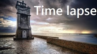 Timelapse 02- Sunset by sea