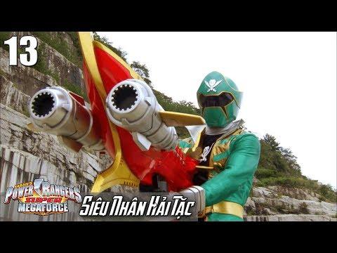 Phim Siêu Nhân Hải Tặc (Super Megaforce) Tập 13: Đại Thần Công Hải Tặc - Thời lượng: 23 phút.