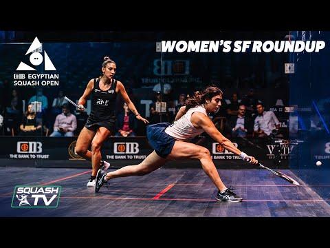 Squash: CIB Egyptian Open 2021 - Women's Semi-Final Roundup