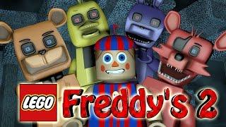 Minecraft | LEGO CHALLENGE - Five Nights At Freddy's 2 Mod! (Freddy 2, 5NAF 2, Lego Build)