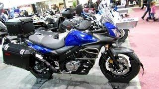 9. 2013 Suzuki V-Strom 650 ABS - Walkaround - 2013 Quebec Motorcycle Show