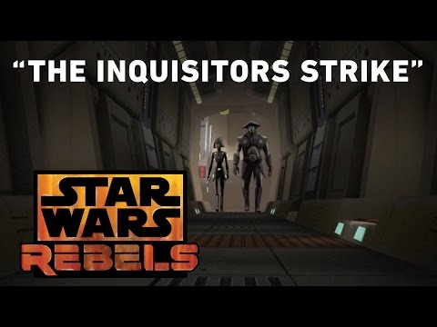 Star Wars Rebels 2.10 (Clip 'The Inquisitors Strike')