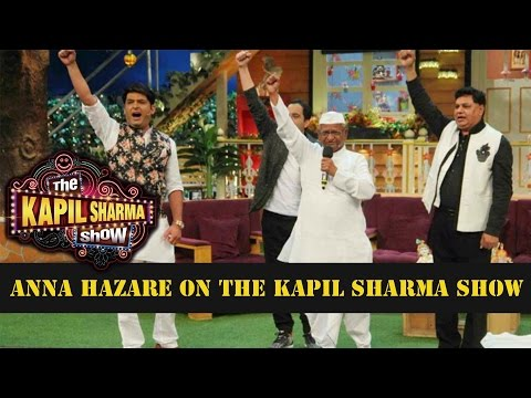 The Kapil Sharma Show Anna Hazare To Promote His B