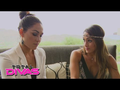 Brie Bella thinks twice: Total Divas Bonus Clip: January 4, 2015