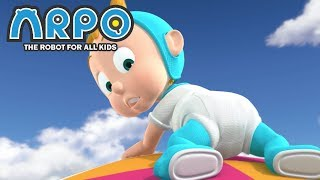 Video ARPO The Robot For All Kids - Flying Baby | Compilation | Cartoon for Kids MP3, 3GP, MP4, WEBM, AVI, FLV Januari 2019