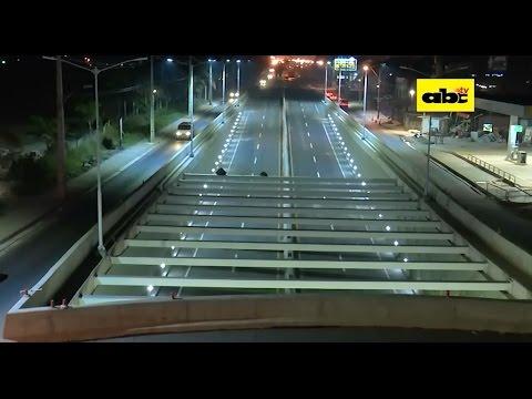 El superviaducto está casi listo