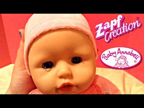 Zapf Creations Baby Annabell Doll Unboxing and Play