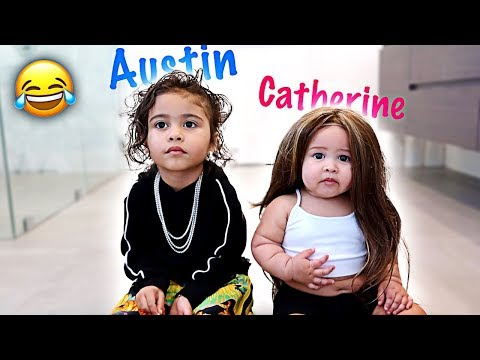 THE GIRLS TRANSFORM INTO THEIR PARENTS!!! **HILARIOUS**