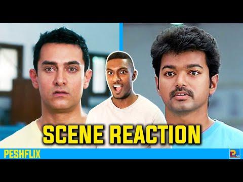 3 Idiots vs Nanban   What is a Machine Scene Reaction   Aamir Khan vs Vijay   PESHFlix Entertainment