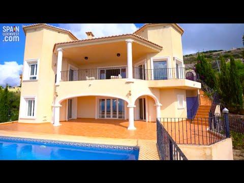 832000€/Новая вилла в Испании/Дом с видом на море в классическом стиле в Кумбре дель Соль/Морайра