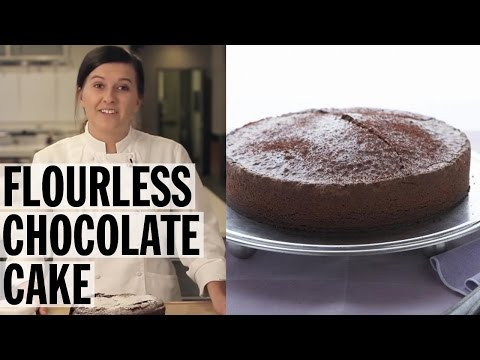 Flourless Chocolate Cake How-To | Food Network