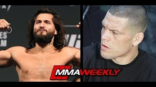 Jorge Masvidal Calls Out Nate Diaz at UFC 241 Backstage by MMA Weekly