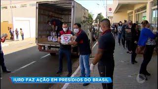 IURD doa cestas básicas para famílias de presidiários em Assis