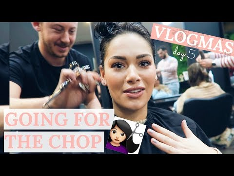 COME TO THE HAIRDRESSERS WITH ME #VLOGMAS  Beauty's Big Sister
