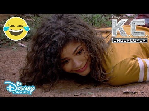 K.C. Undercover | Stuck In The Jungle 😂 | Disney Channel UK