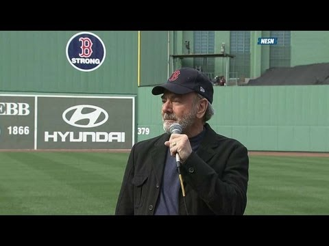 sweet - 4/20/13: Neil Diamond helps heal Boston as he leads Fenway in a rousing rendition of his