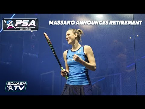 Squash: Laura Massaro Announces Retirement