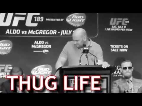 UFC President Dana White Goes Thug Life on MMA Reporter
