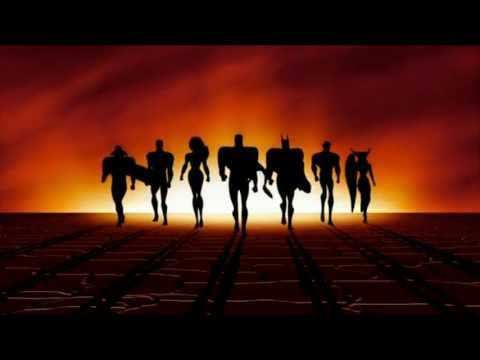 Justice League: The Animated Series | Opening Theme | 1080p 【HD】  Bluray :)