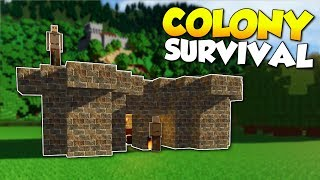 Video BUILDING A COLONY & BECOMING KING! - Colony Survival Gameplay [Ep 1] - Kingdom Building! MP3, 3GP, MP4, WEBM, AVI, FLV Januari 2019