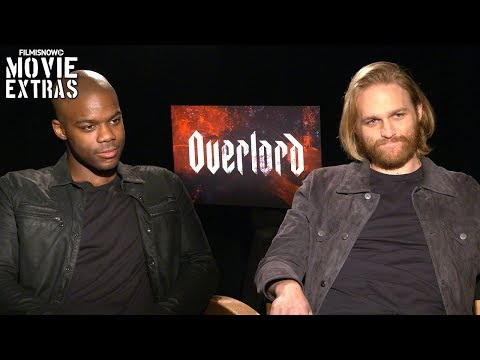 OVERLORD   Jovan Adepo & Wyatt Russell talk about their experience making the movie