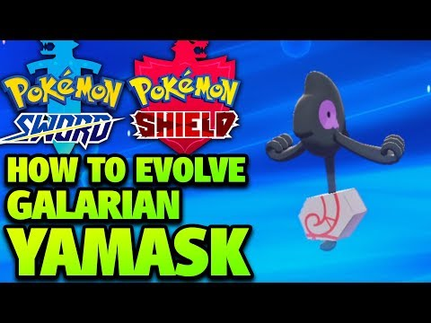 How to Evolve GALARIAN Yamask into Runerigus in Pokémon Sword and Shield (Galarian Cofagrigus)