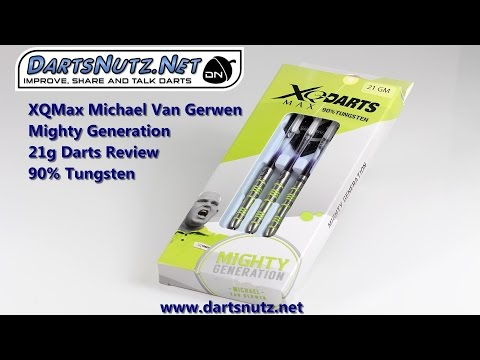 XQ Max Michael Van Gerwen Mighty Generation 21g darts review
