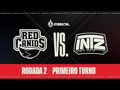 CBLOL 2021: 1ª Etapa - Fase de Pontos | RED Kalunga x INTZ (1º Turno)