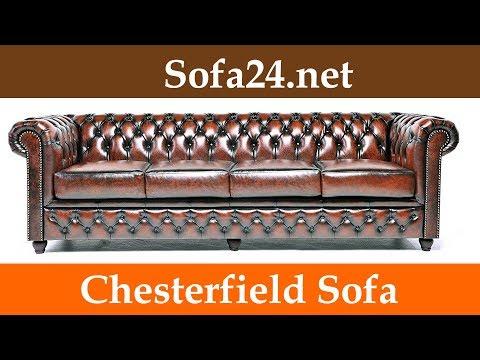 Chesterfield Sofa, ob als 2 Sitzer, 3 Sitzer oder Eckcouch - einfach Klasse mit Stil