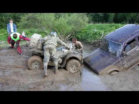 Niva VS Toyota Land cruiser или