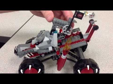 LEGO Chima Wakz' Pack Tracker Review