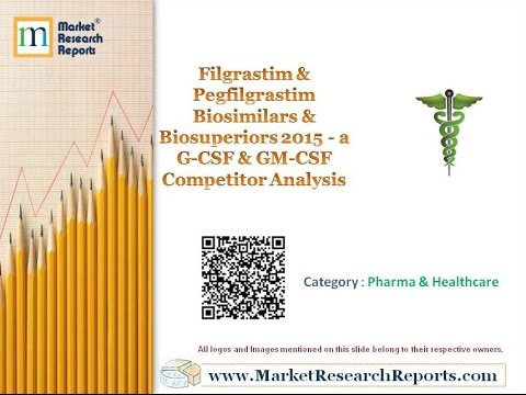Filgrastim & Pegfilgrastim Biosimilars & Biosuperiors 2015 - a G-CSF & GM-CSF Competitor Analysis