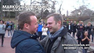 Video Markus and Frank's Surprise Flash Mob Proposal - New York, NY MP3, 3GP, MP4, WEBM, AVI, FLV Agustus 2018