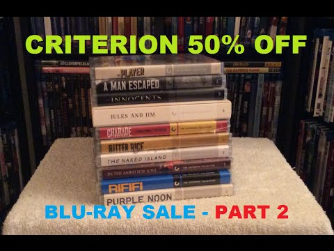Criterion 50% Off Blu Ray Pickups PART 2 - Barnes & Noble SALE