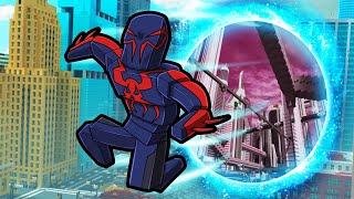 Futuristic SPIDERMAN Creates Spiderverse! (Crazy Craft)