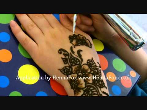 Henna Mehndi Rose Design For Eid 2011