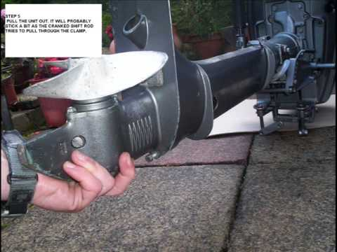 evinrude water pump replacement instructions