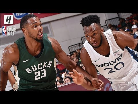 Milwaukee Bucks vs Minnesota Timberwolves - Full Game Highlights | July 8, 2019 NBA Summer League
