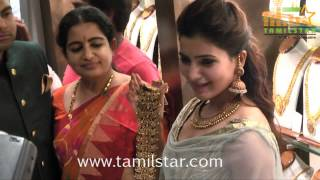 Samantha Inauguration of Prince Jewellery Exhibition