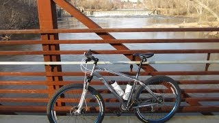 This is Part I of II on Mountain Biking the Neuse River Trail in Raleigh, North Carolina. This ride is from Anderson Point around mile marker 17 to Horse F...