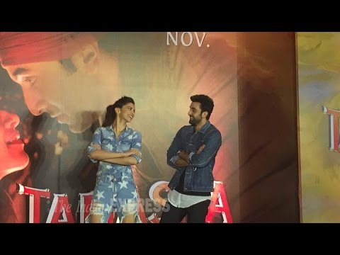 Ranbir Sweeps Deepika Off Her Feet
