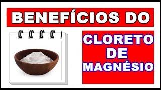 Acesse: http://bit.ly/siteCS - Conheça os benefícios do Cloreto de Magnésio para a saúde, onde comprar, como consumir e contraindicações. Se gostar do vídeo...