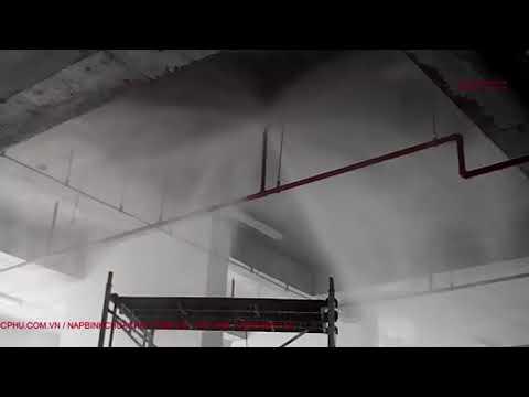 Test và nghiệm thu hệ thống Sprinkler