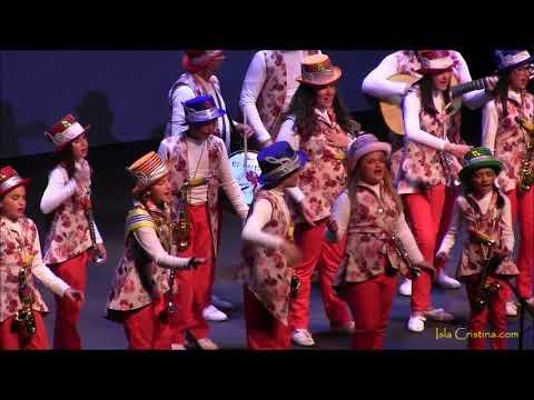 Comparsa Infantil «Los callejeros» Carnaval de Isla Cristina 2018