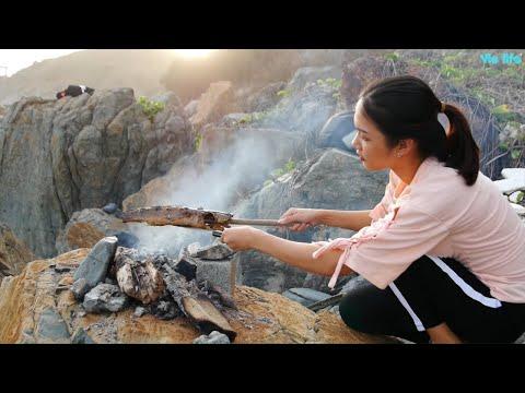 Cùng Vie Girl Nướng Cá Ngoài Tự Nhiên