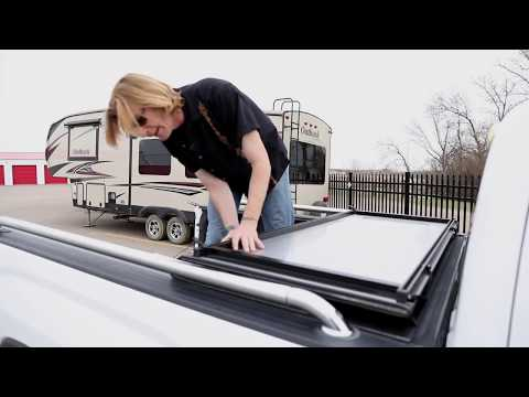 Revew of the LoMax Tonneau Cover - Hard Folding Truck Bed Cover - RHRSwag.com