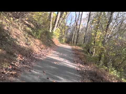 Riding The Grist Mill Trail In Avalon (видео)