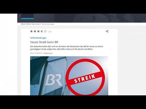 Streik: Öffentlich-rechtlicher Rundfunk will 6 % mehr ...