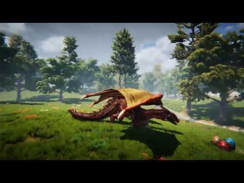 Unka, the Dragon. Testing various Unity Assets