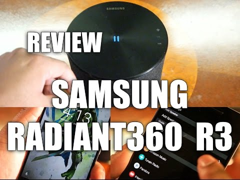 Review: Samsung Radiant R3 Wireless Speakers